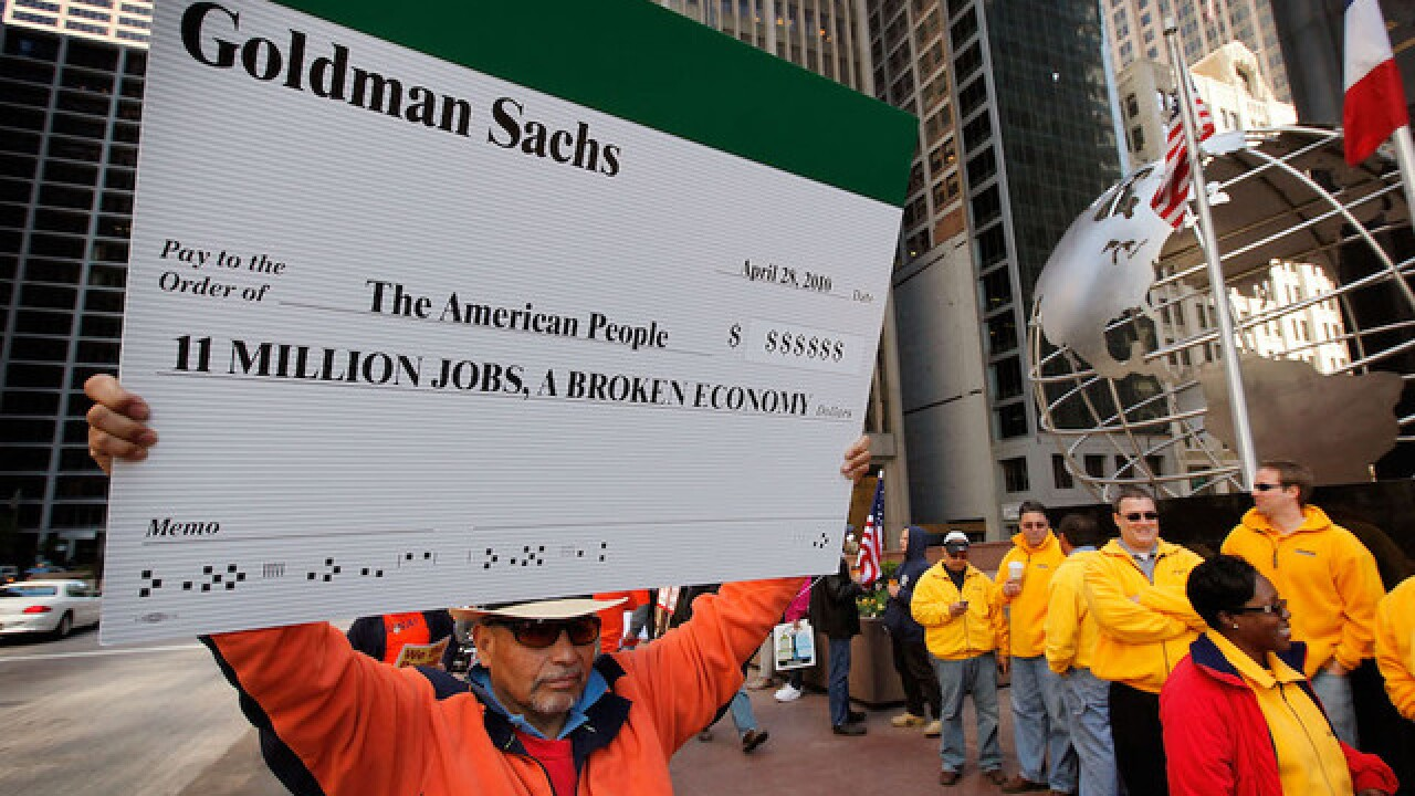 US, Goldman Sachs, reach $5B settlement over risky mortgages