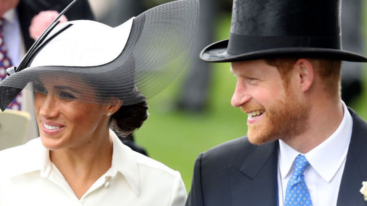 Photos: Prince Harry and Meghan Markle attend Royal Ascot horse racing event
