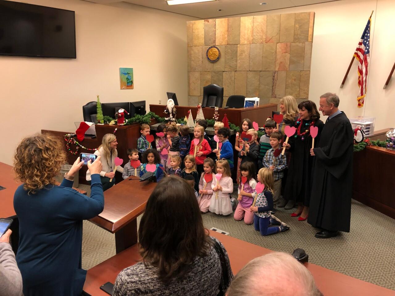 Boy Invites Entire Kindergarten Class to his Adoption (2).jpg