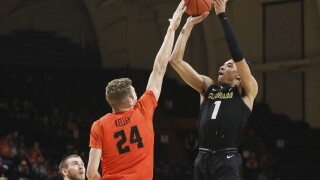 No. 16 Buffalos beat Oregon State, move into 1st in Pac-12