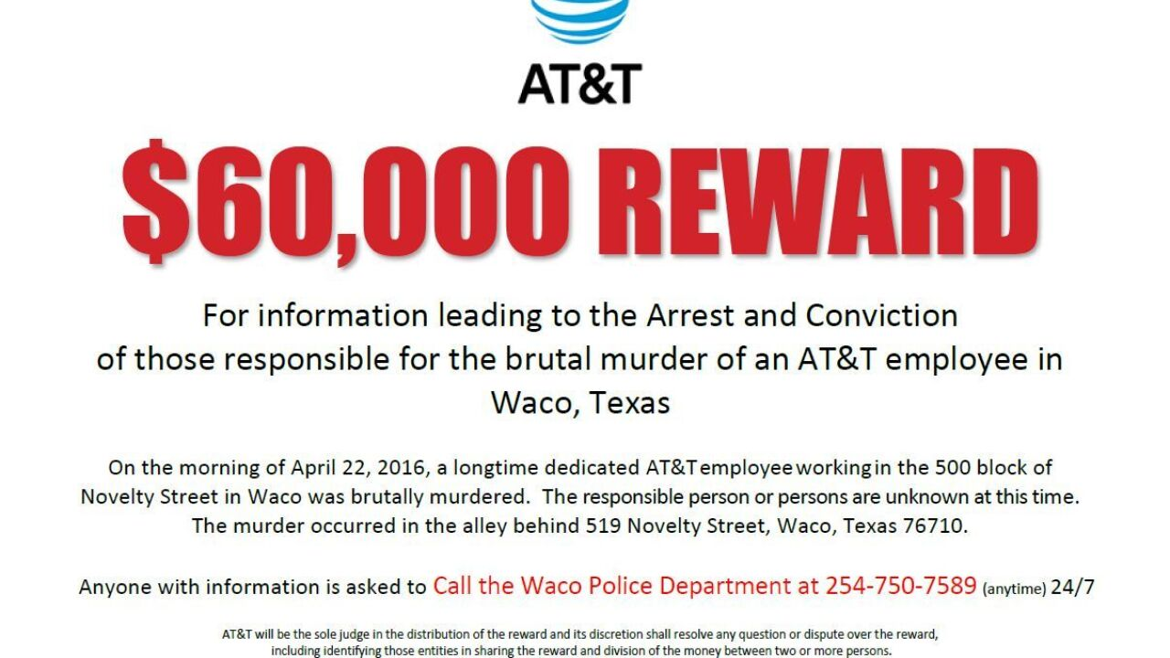 AT&T offers reward for information in death of employee