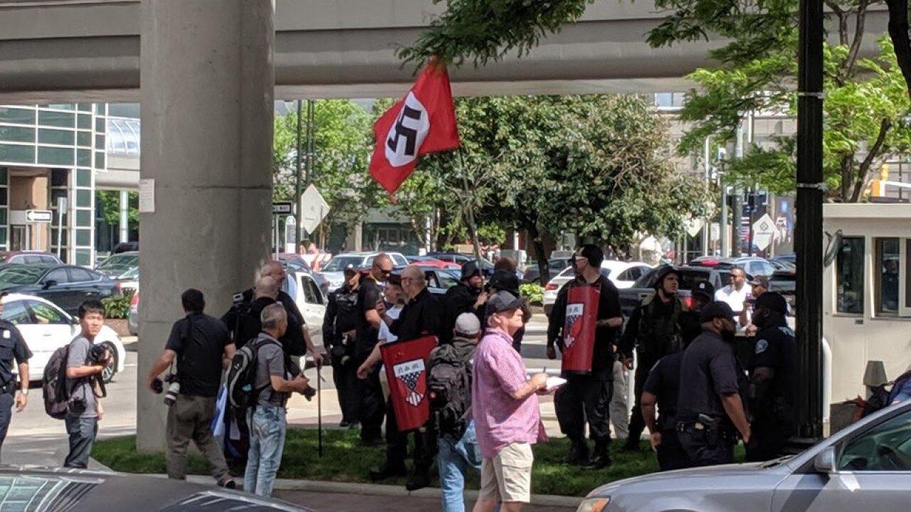 Neo-Nazis at Detroit Pride