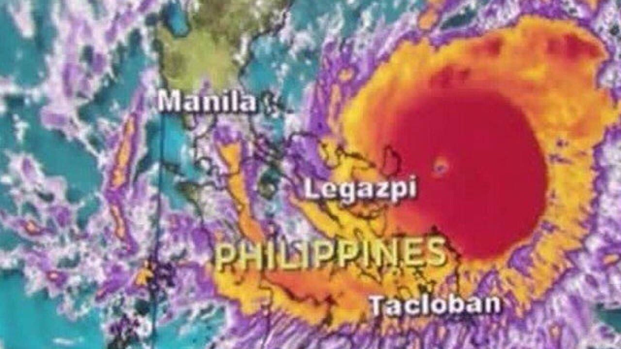 Typhoon Nock-ten hits the Philippines on Christmas Day