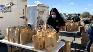 Food banks report high volume of need