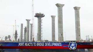 Port responds to likely delay for new Harbor Bridge