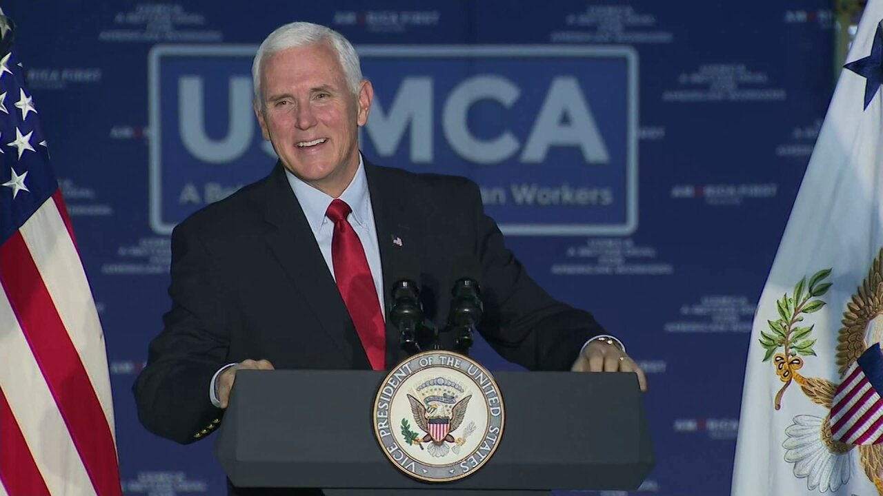Pence stumps for GOP in Virginia ahead of Election Day