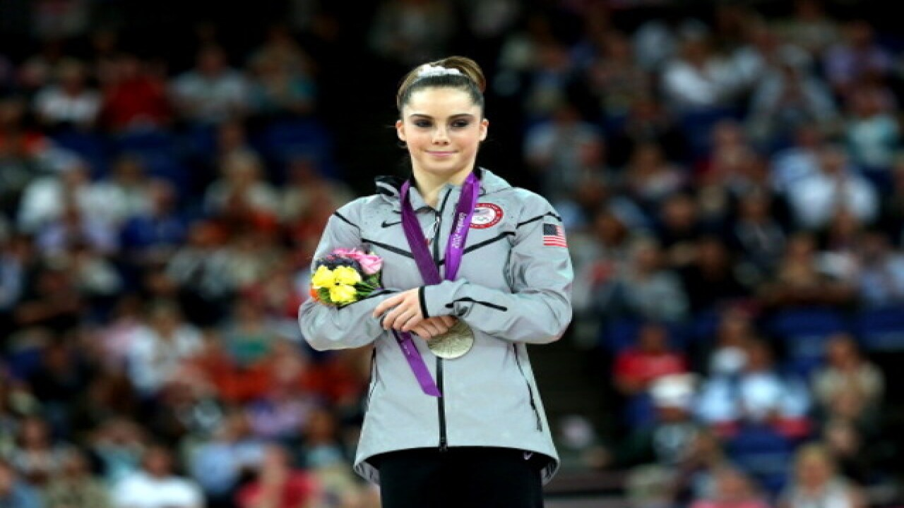 Team USA gymnast McKayla Maroney says she was assaulted by Dr. Larry Nassar