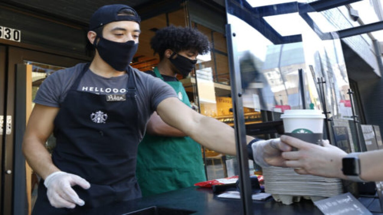 Starbucks Is The First National Restaurant Chain To Require Masks In All Locations