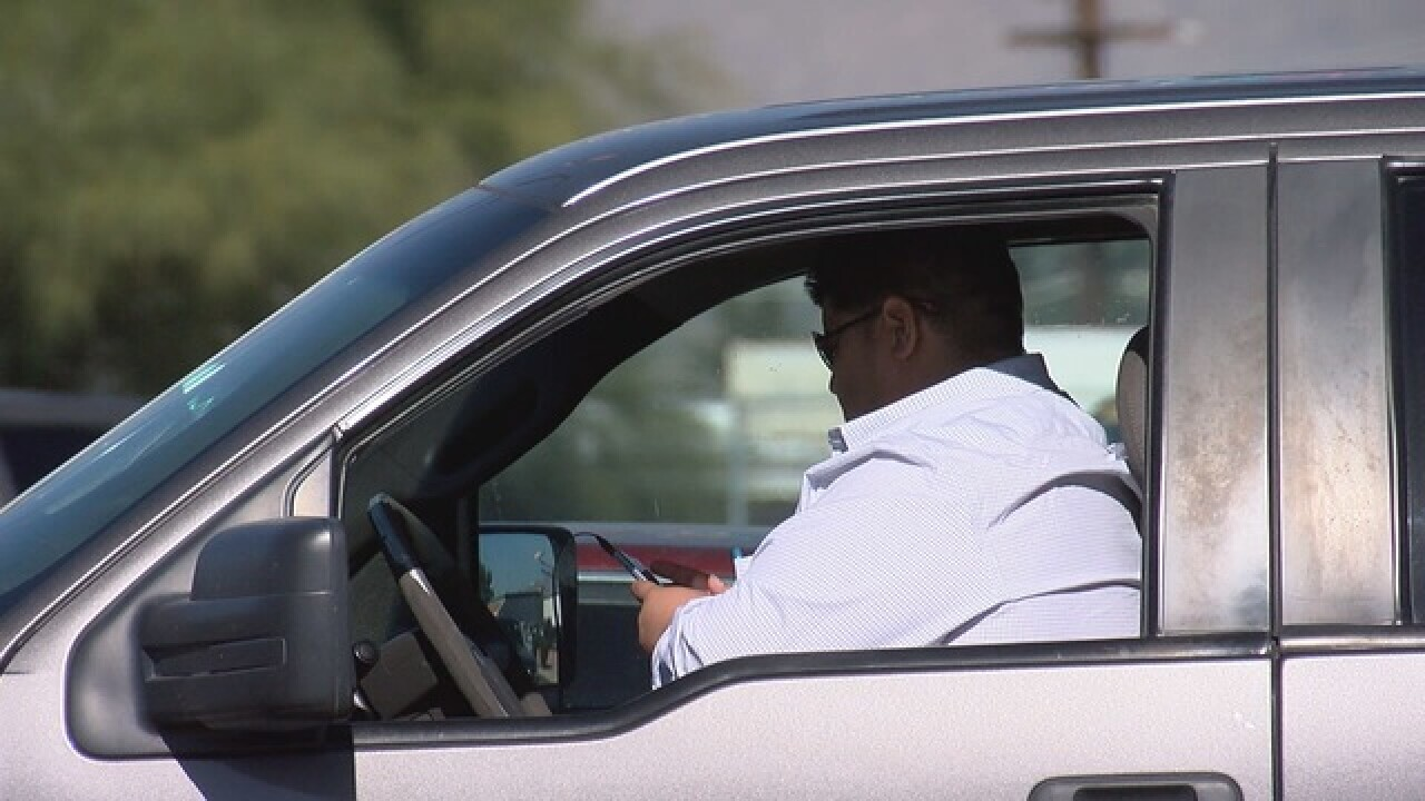 Pima County tightening up distracted driving law