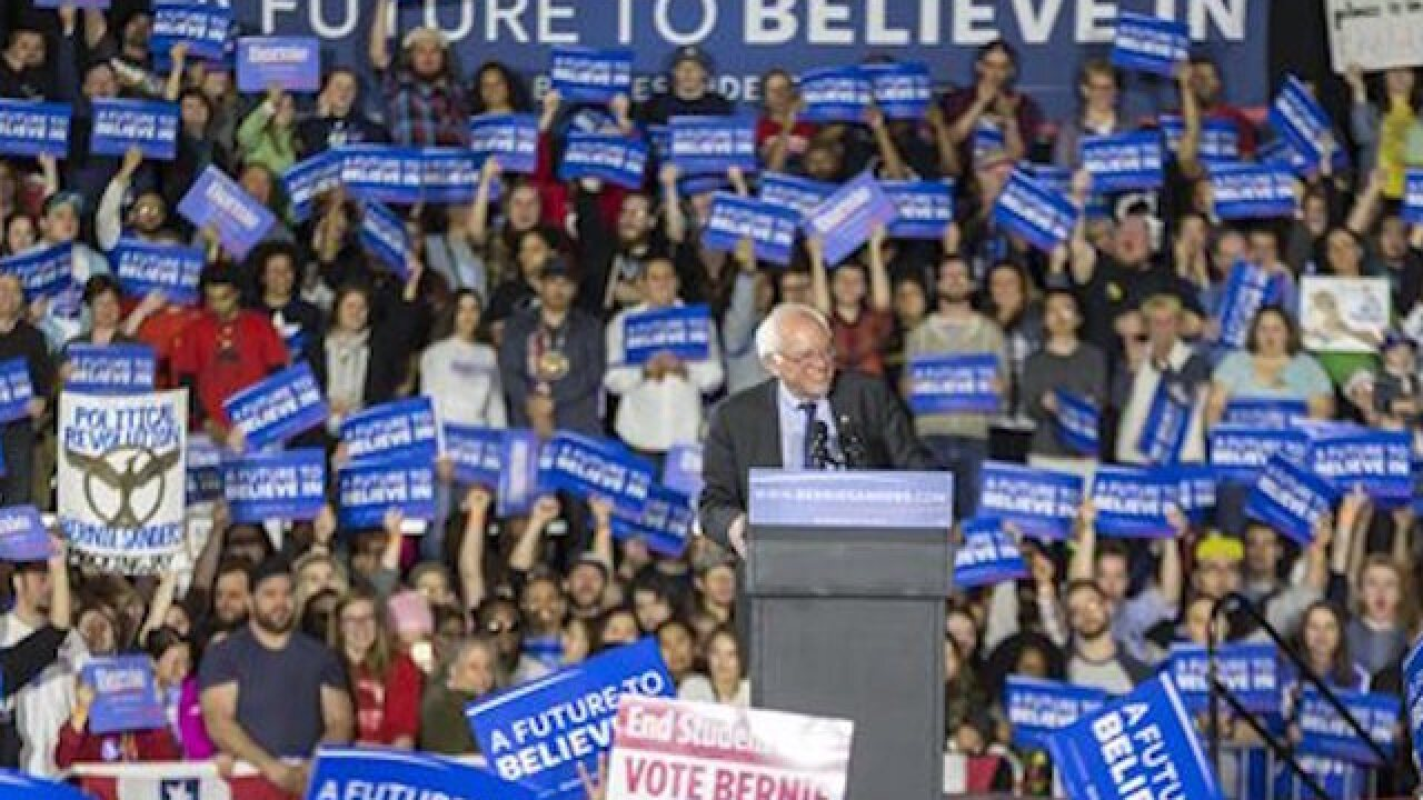 Sanders aims for big fundraising haul in March