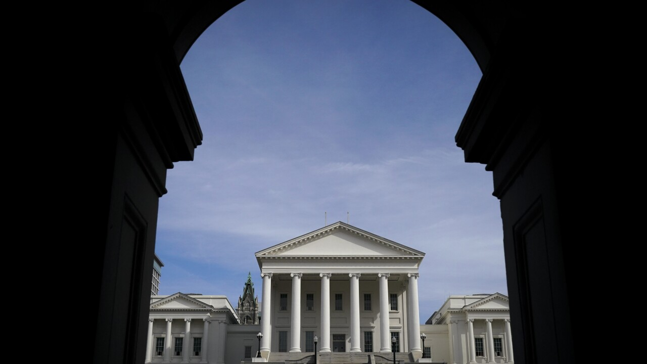 Democrats have taken control of Virginia's General Assembly for the first time in twodecades