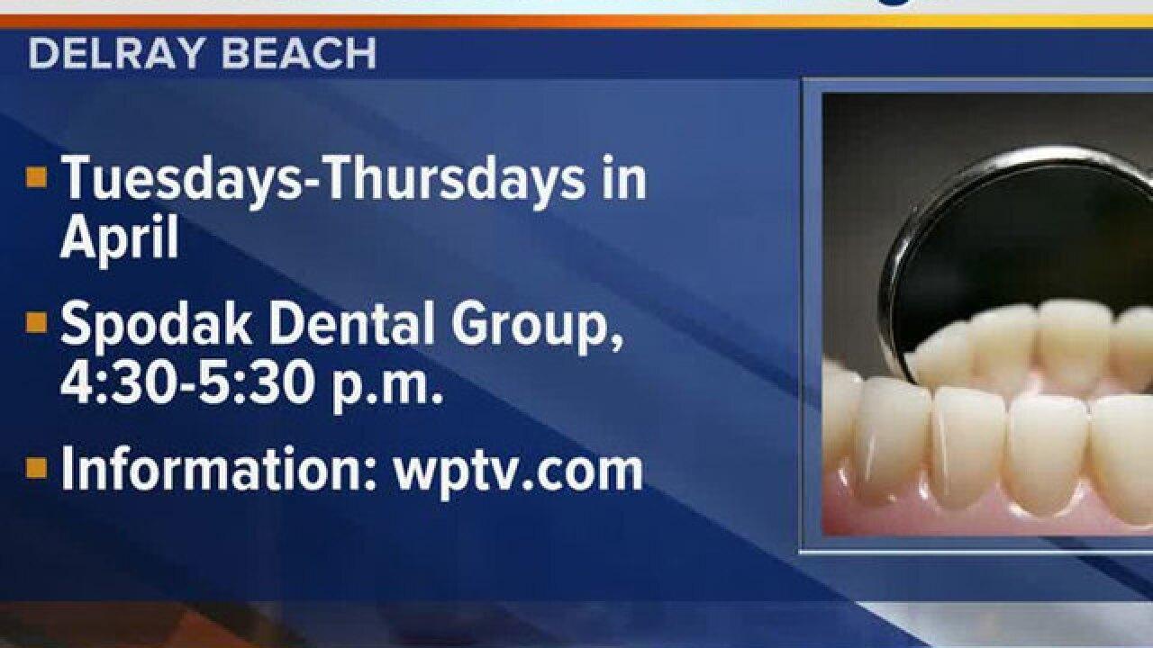 Free oral cancer screenings at Spodak Dental in Delray Beach