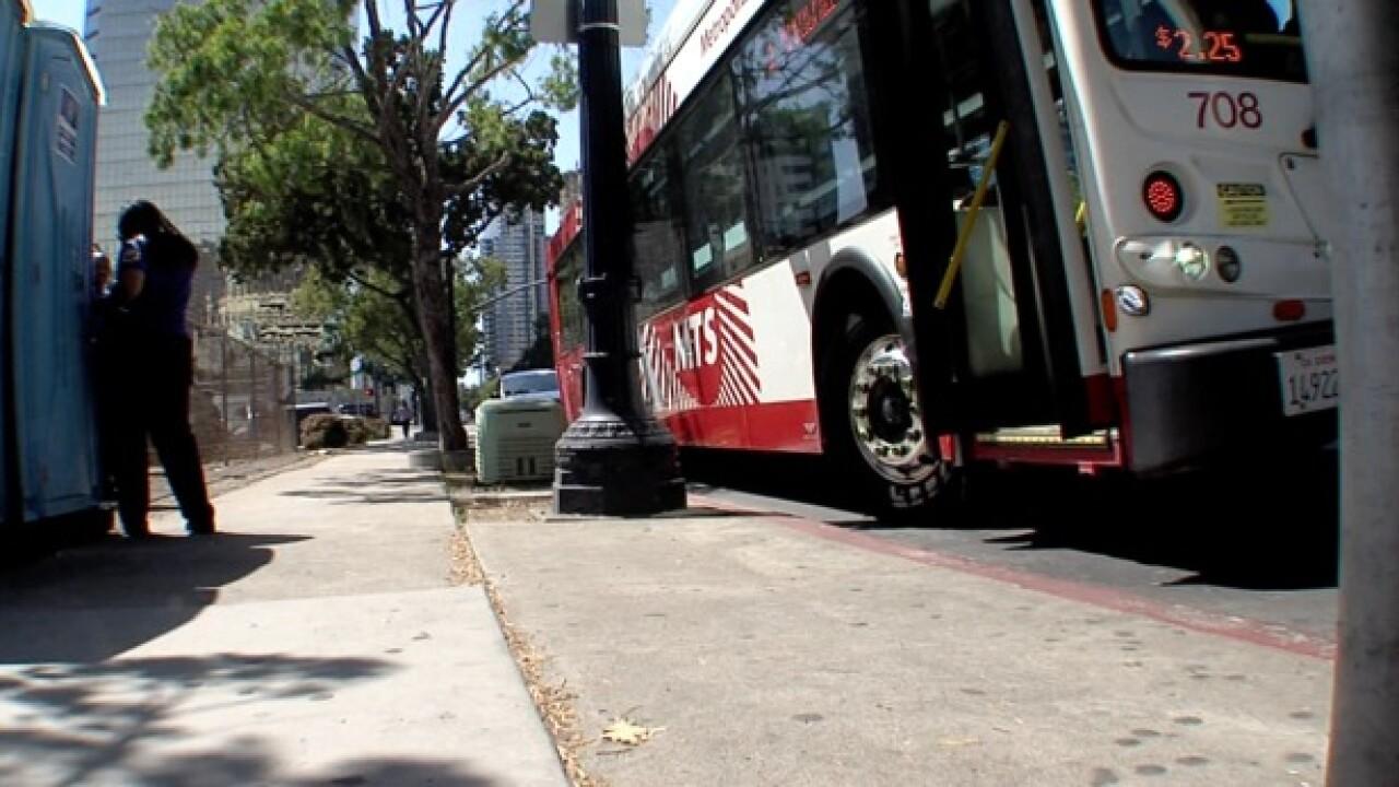mts bus public transportation