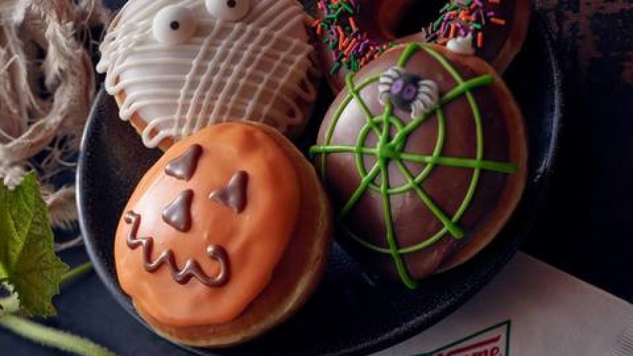 Get a free Halloween donut from Krispy Kreme today