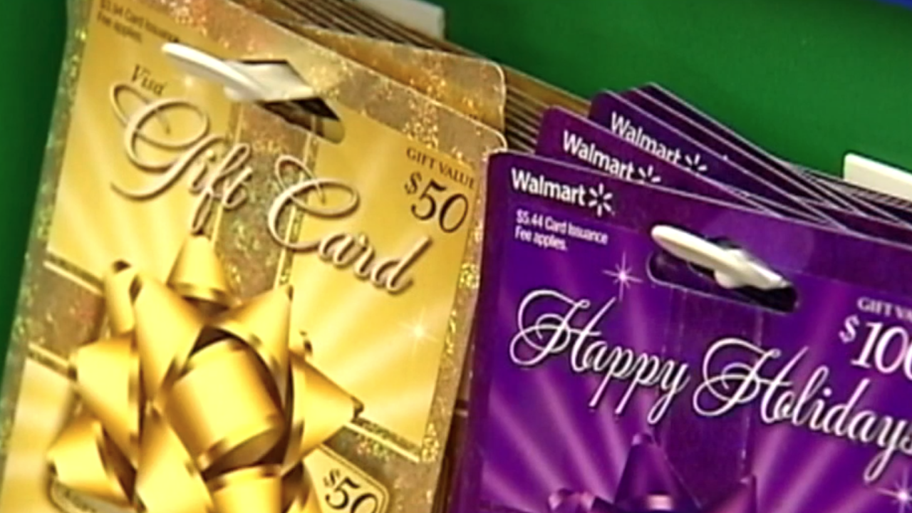 Turn your leftover gift card money into a charity donation
