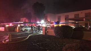 Child dead, three others injured in Phoenix apartment fire