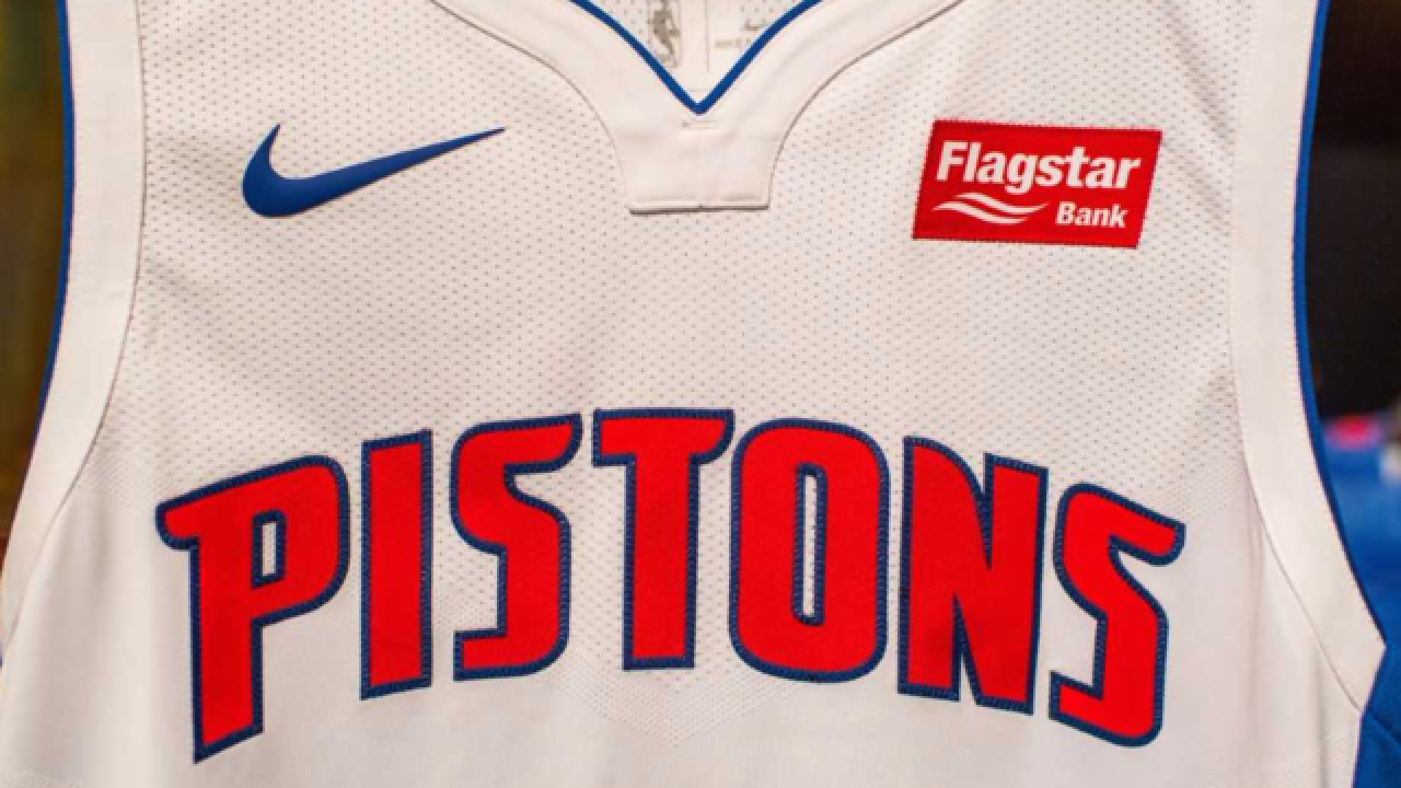 Flagstar Bank To Be First Jersey Sponsor For Detroit Pistons