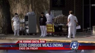 CCISD curbside meals ending