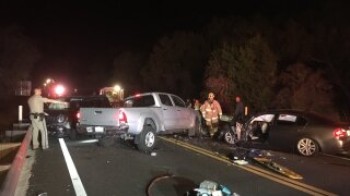 SR-154 crash- 7 patients
