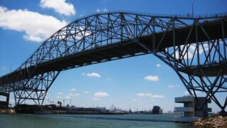 Lane closures ongoing as Harbor Bridge inspection continues