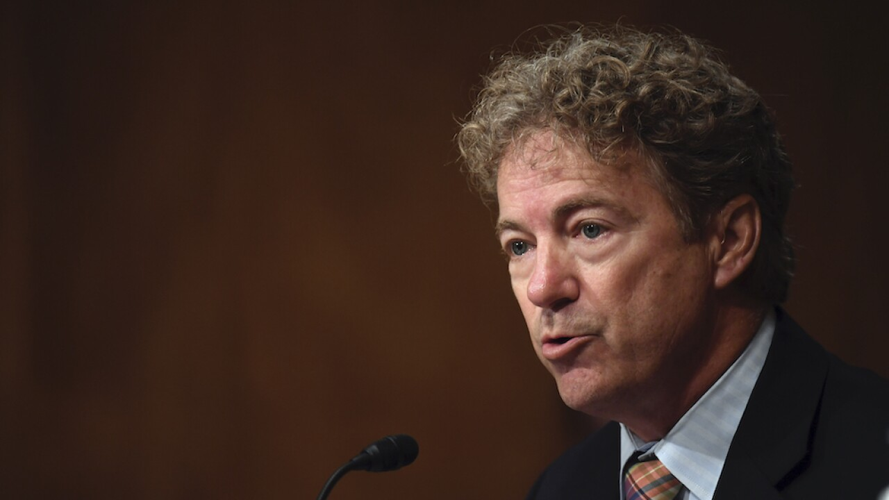 Protesters in DC surround Sen. Rand Paul, confront him about Breonna Taylor following RNC