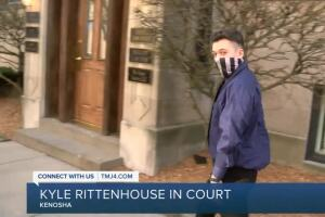 Kyle Rittenouse appears in court