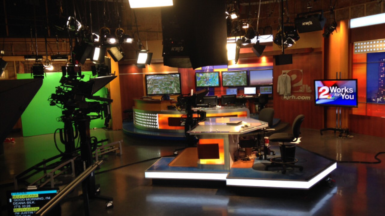Scheduling a tour of the KJRH 2 Works for You studios on Brookside in Tulsa.