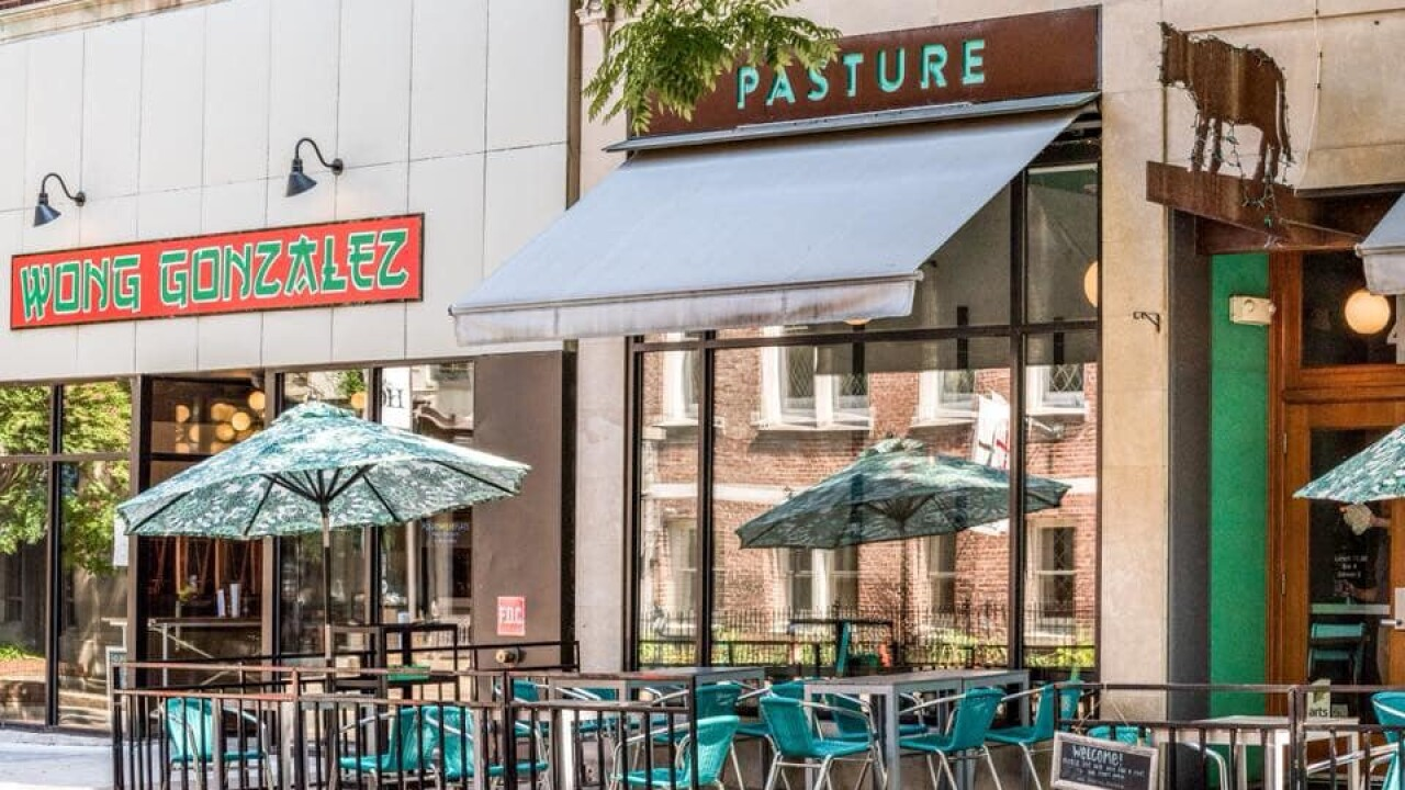 'Best Restaurant in Virginia' Pasture closes in downtown Richmond