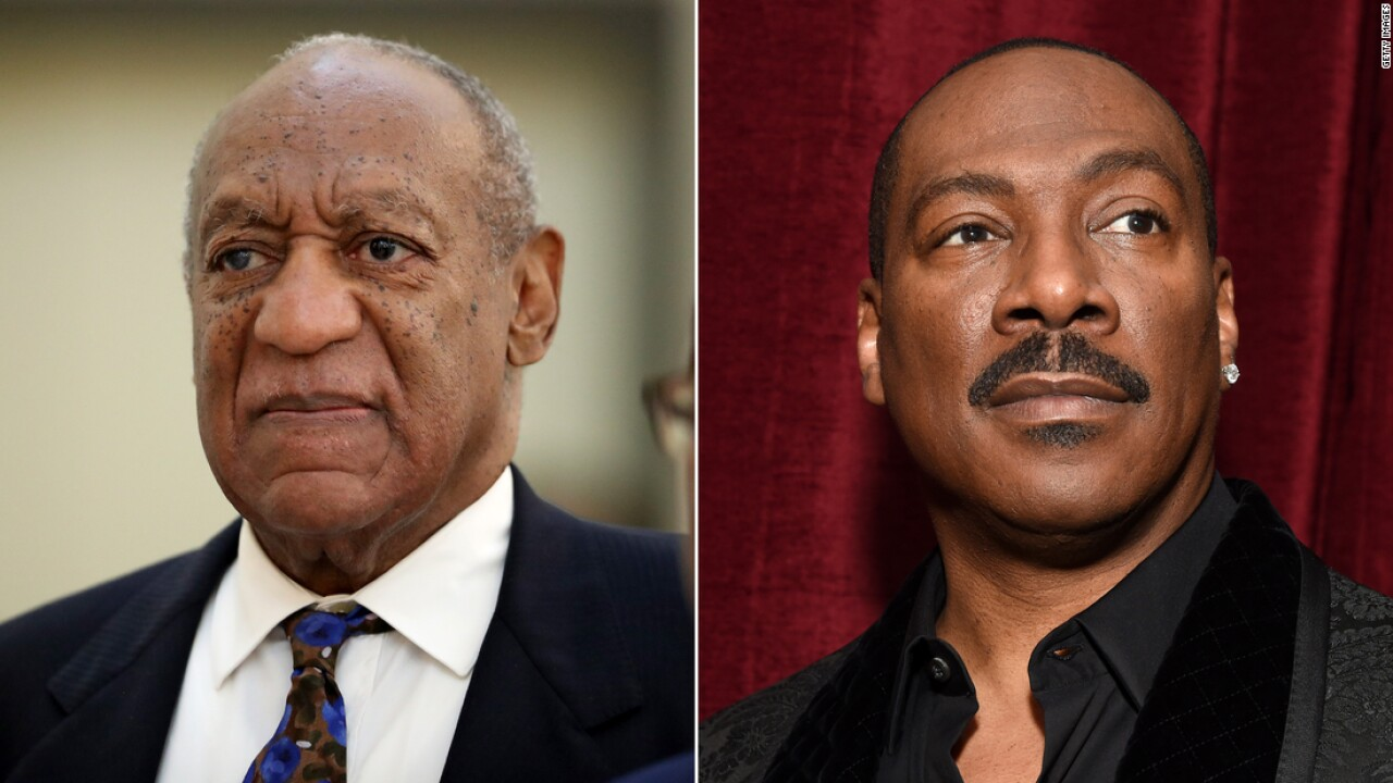 Bill Cosby's spokesman calls Eddie Murphy a 'Hollywood slave' after SNL appearance