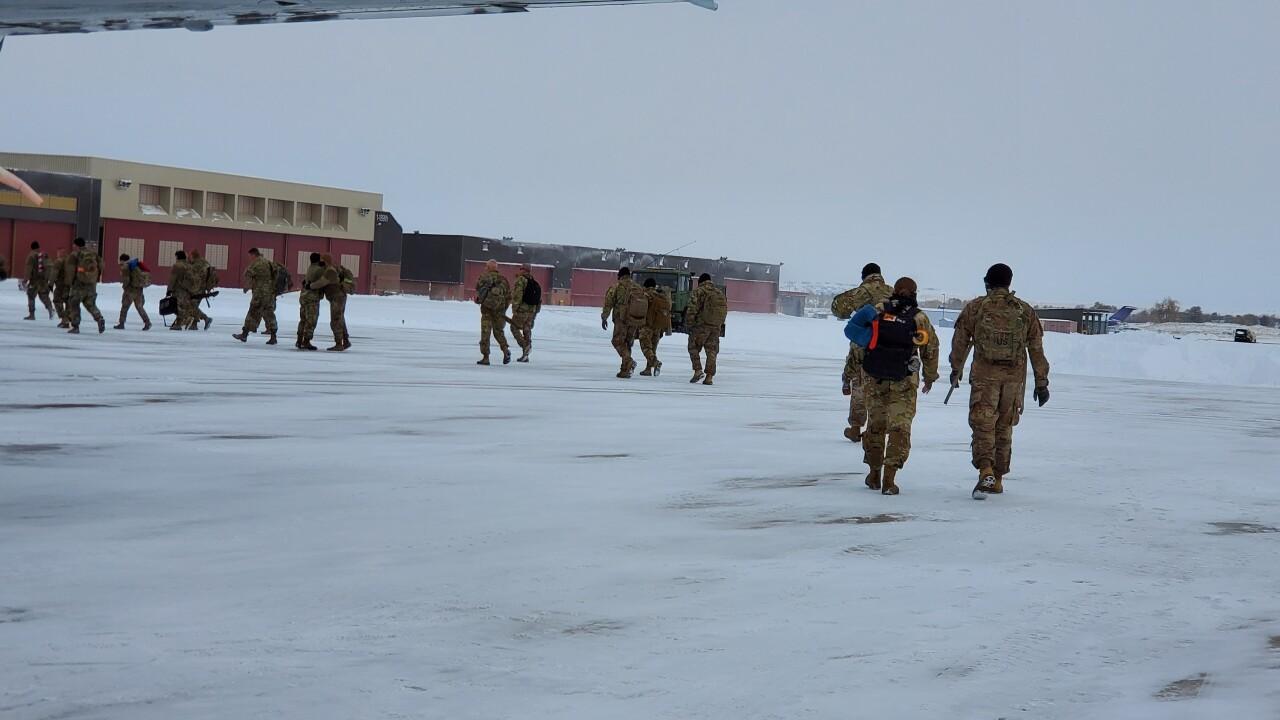 MT Soldiers return home