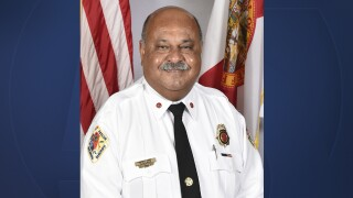 Gregory Holness, first Caribbean-American fire chief in Broward County