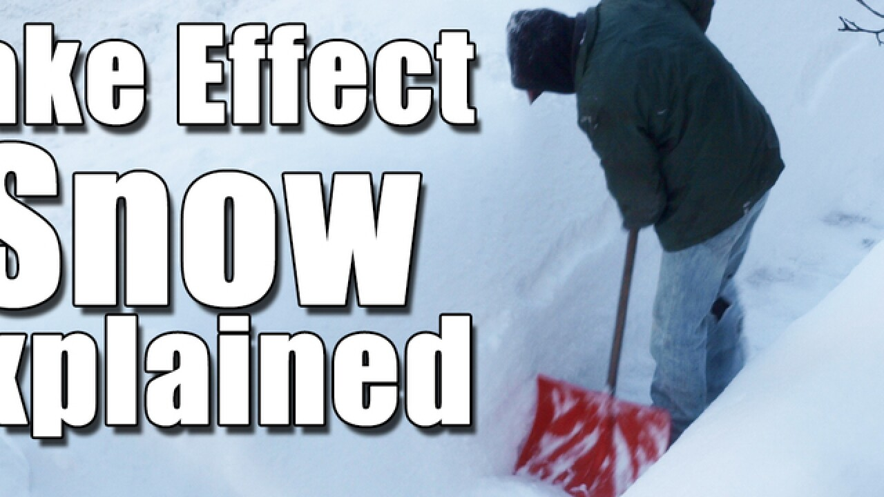 Winter is coming: First lake effect snow is here