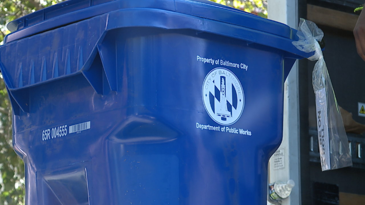 City rolls out new recycling carts in East Baltimore