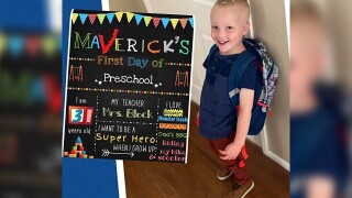 Maverick's First Day of School.jpg