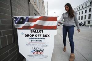 colorado ballot drop off voter voting denver ballot drop box