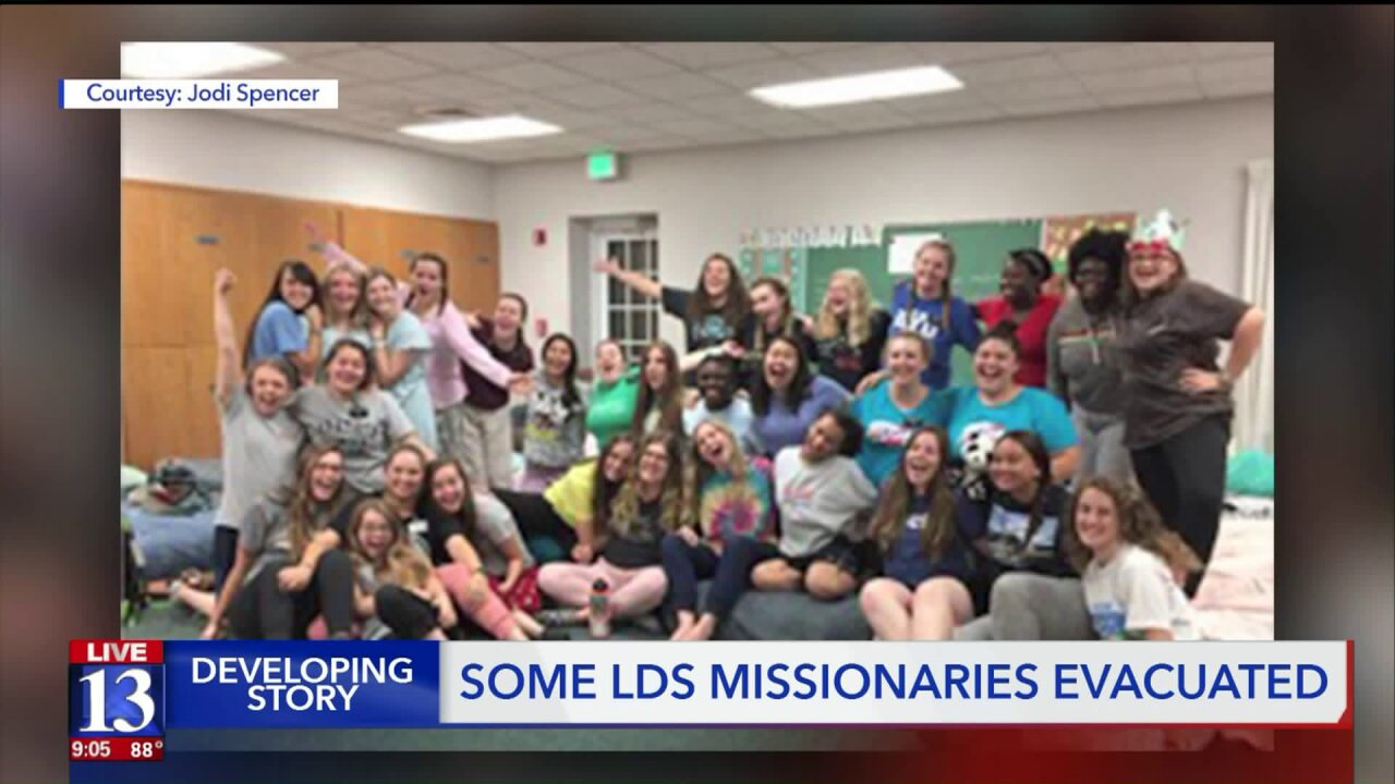 Latter-day Saint missionaries evacuated from Hurricane Dorian's path
