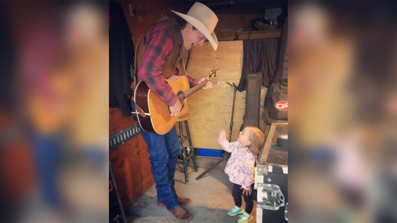 Ned LeDoux and his daughter