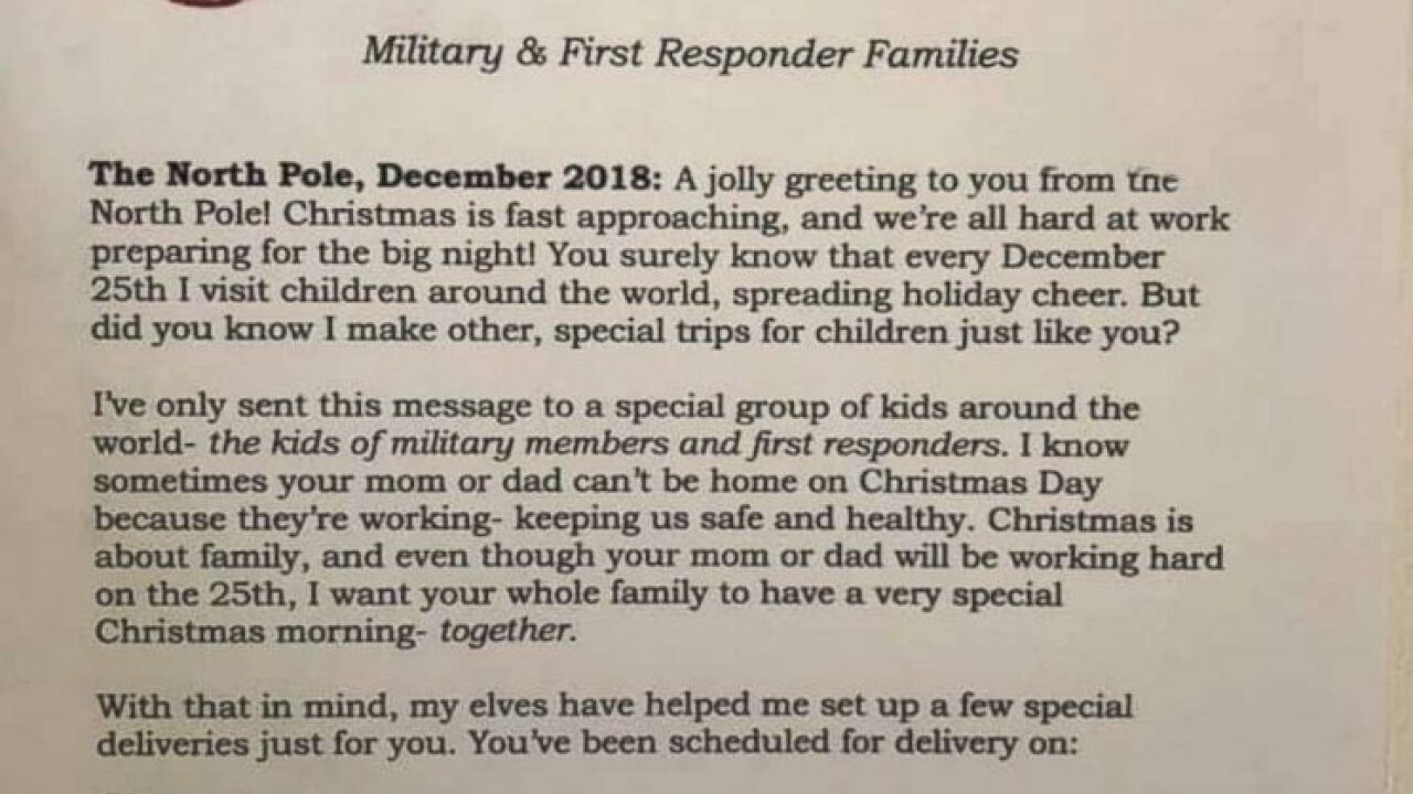 Moms Creative Santa Letter Reschedules Christmas For Parents Who Work On Dec 25