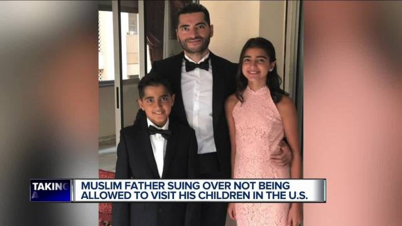 CAIR lawsuit involving father who can't see kids