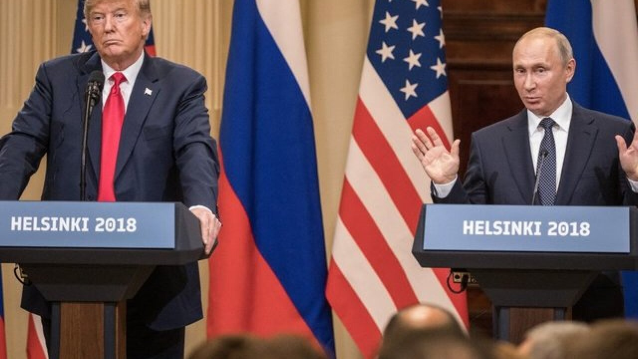 Here's what the White House says Putin and Trump talked about
