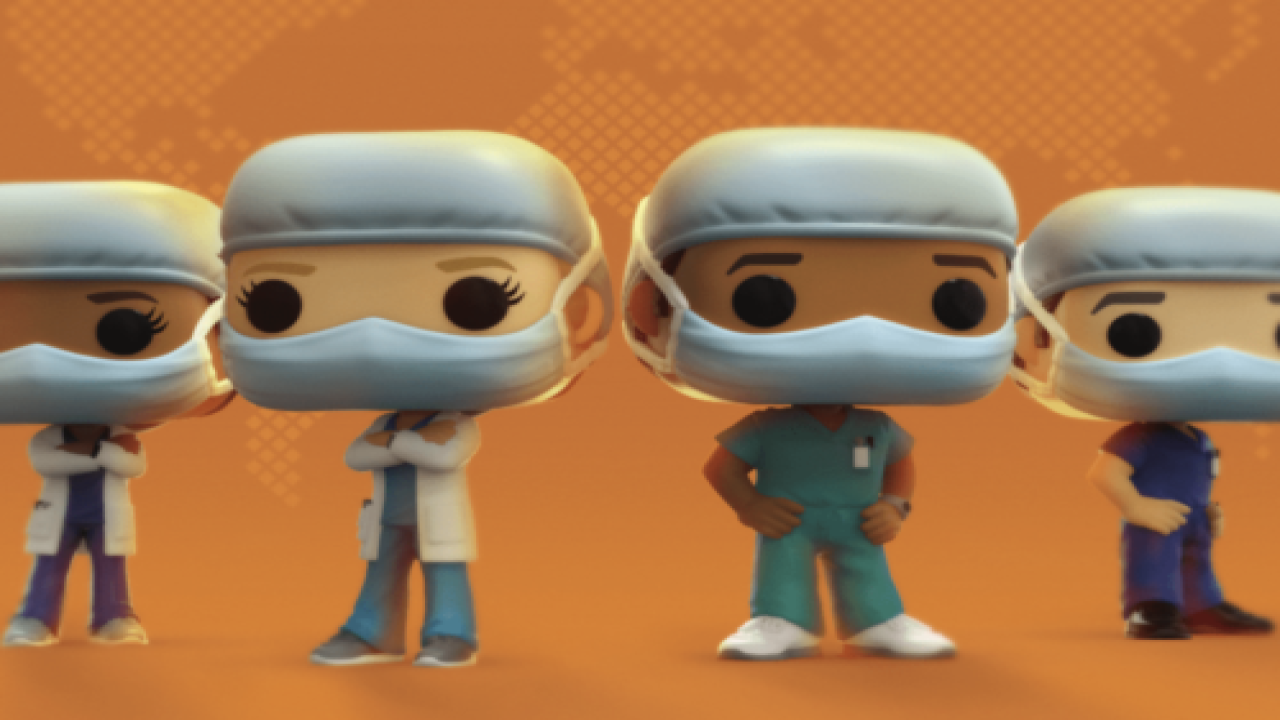 Funko's Newest Figurines Celebrate Healthcare Workers