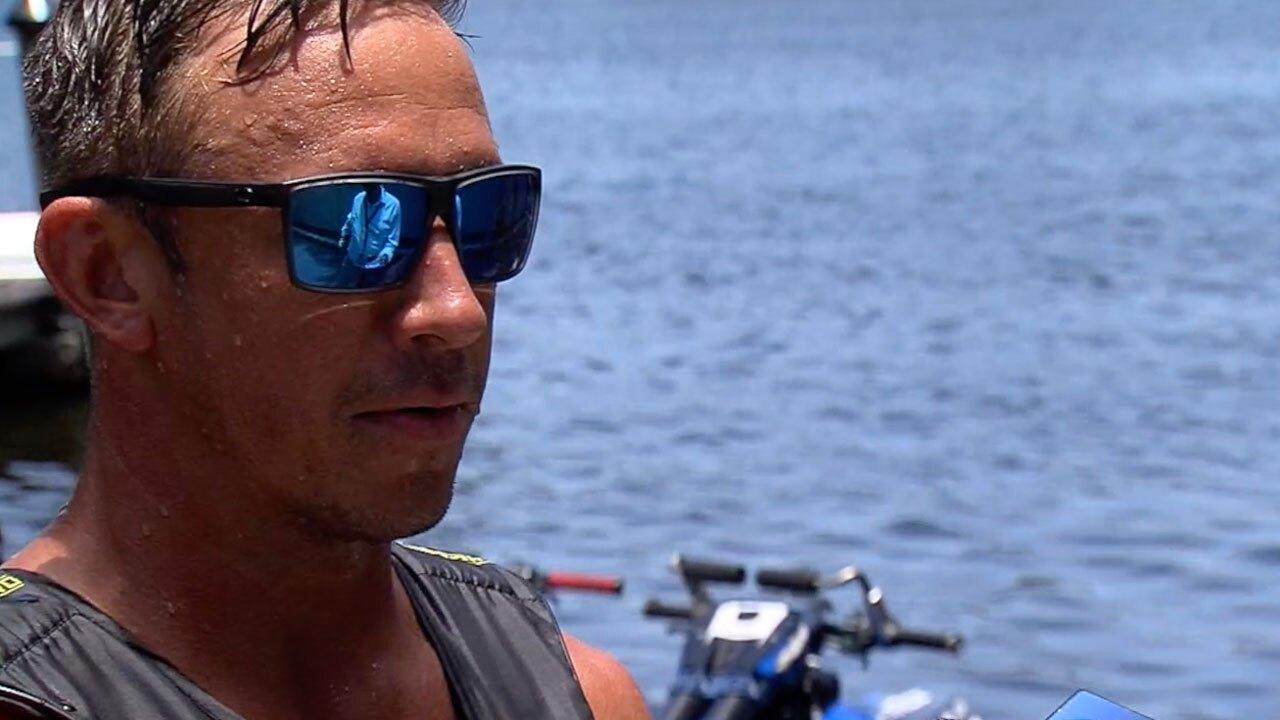 Chris Anyzeski, professional jet skier