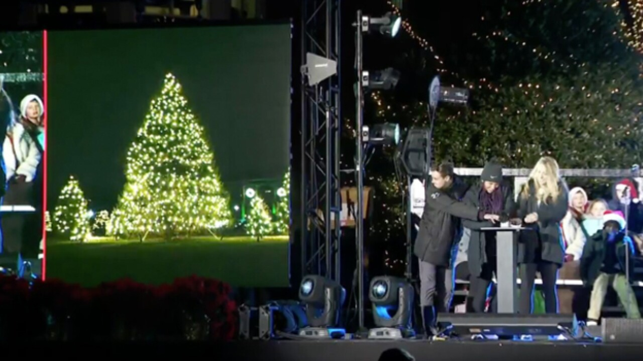 Lipscomb holds its annual Lighting of the Green
