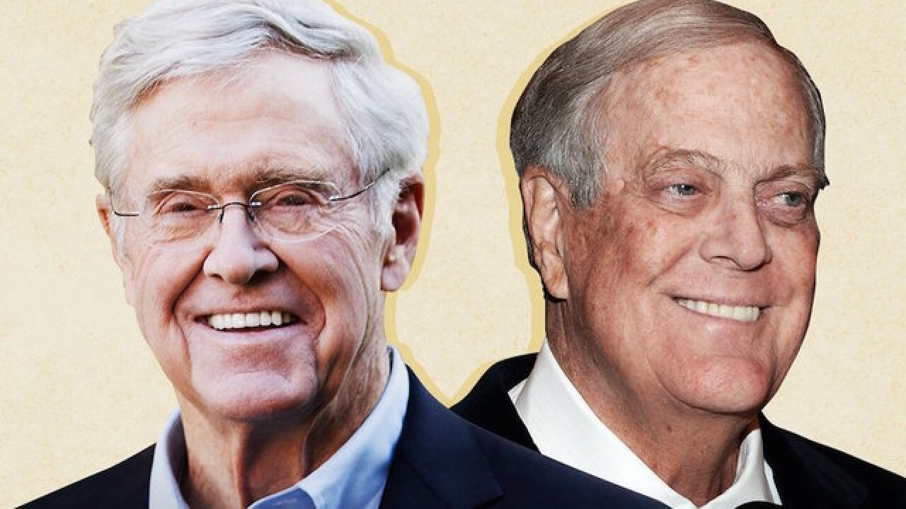 President Trump keeps up attack against billionaire Charles Koch