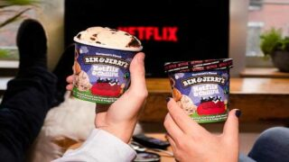 Ben & Jerry's Has A New Netflix-themed Ice Cream Flavor