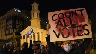 APTOPIX Election 2020 Protest Washington DC