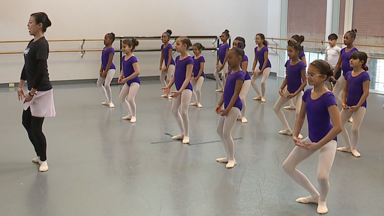KC Ballet and KCPS dance program