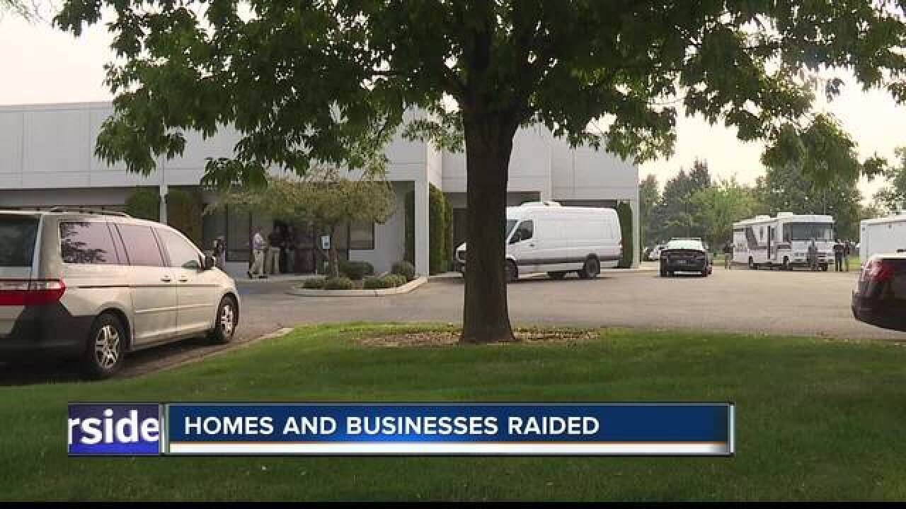 FBI raiding homes, businesses across Ada County