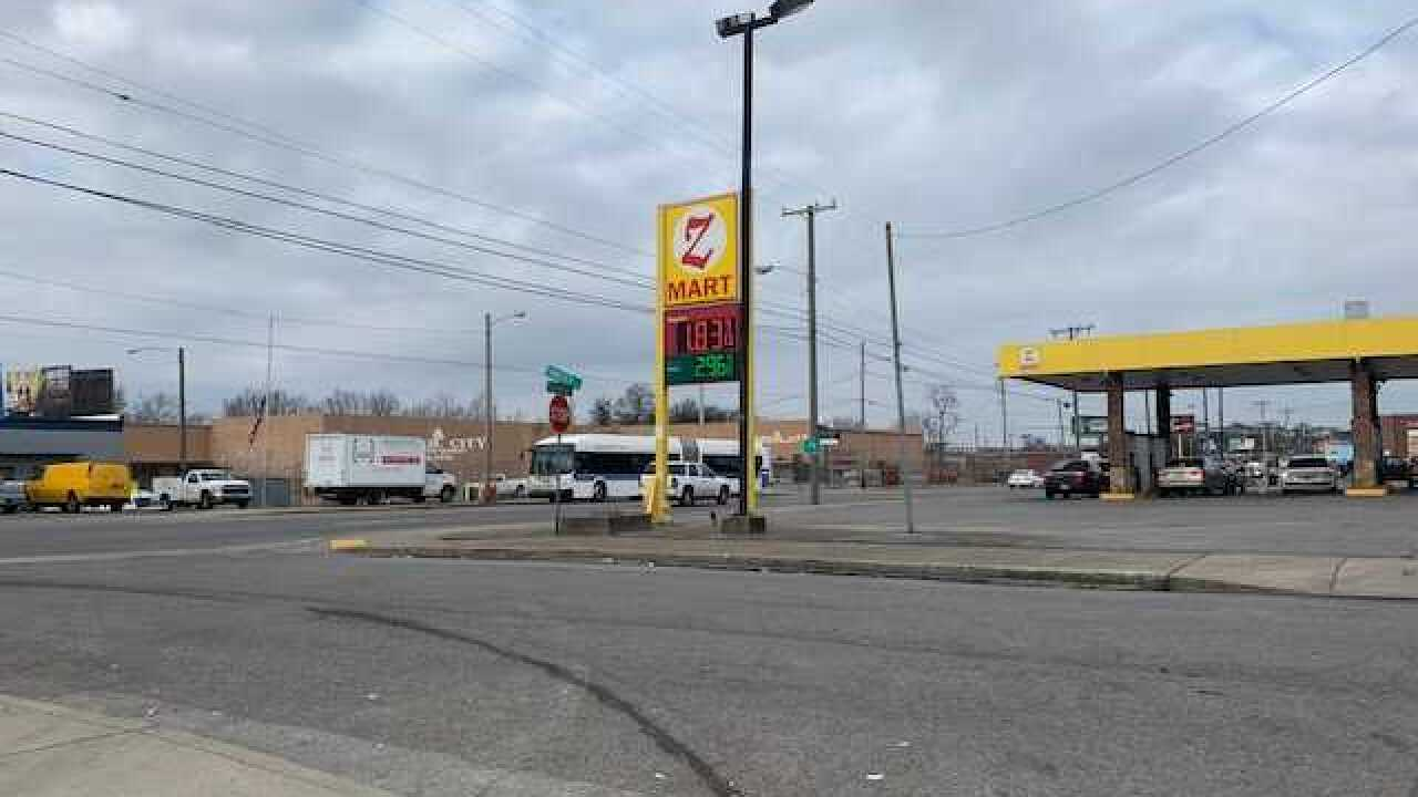 Gas prices drop