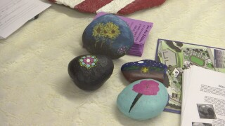 Rock hunters look for art on grounds at MontanaFair